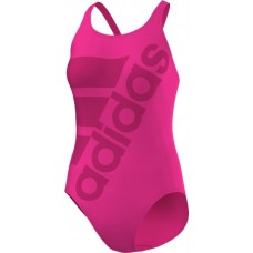 adidas Infitex+ Solid Swimsuit - Pink/Bold Pink