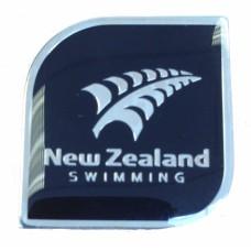 Swimming New Zealand Pin