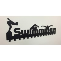 Swimming Medal Hanger